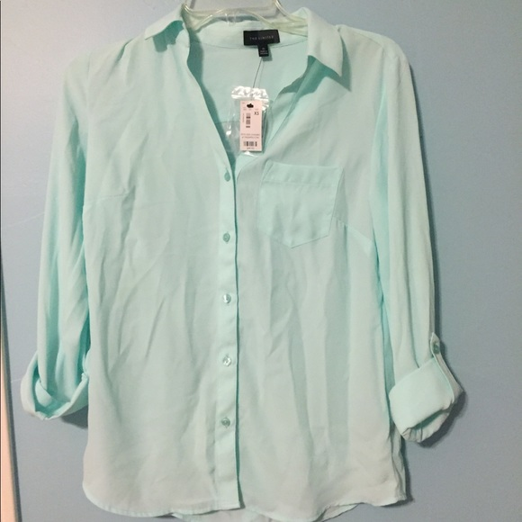 The Limited Tops - NWT The Limited Button Up Blouse